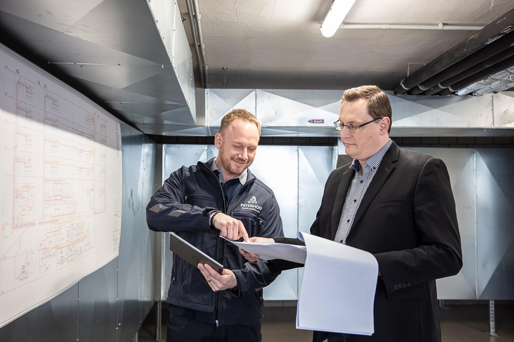Analyse und Dokumentation - Gebäudemanagement bei gepe Gebäudedienste Peterhoff GmbH