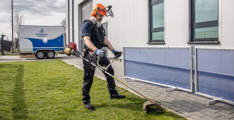 Grün- und Graupflege - Gebäudemanagement bei gepe Gebäudedienste Peterhoff GmbH