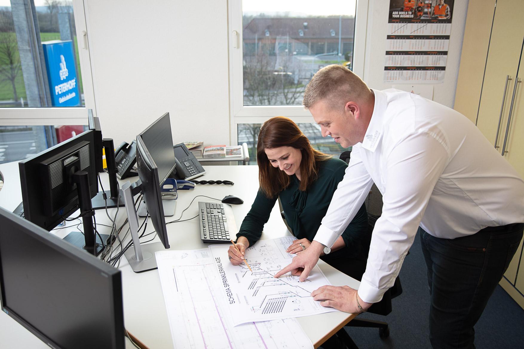 Technische Betriebsführung - Gebäudemanagement bei gepe Gebäudedienste Peterhoff GmbH