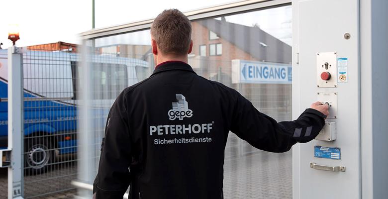 Werk- und Objektschutz - gepe Sicherheitsdienste GmbH
