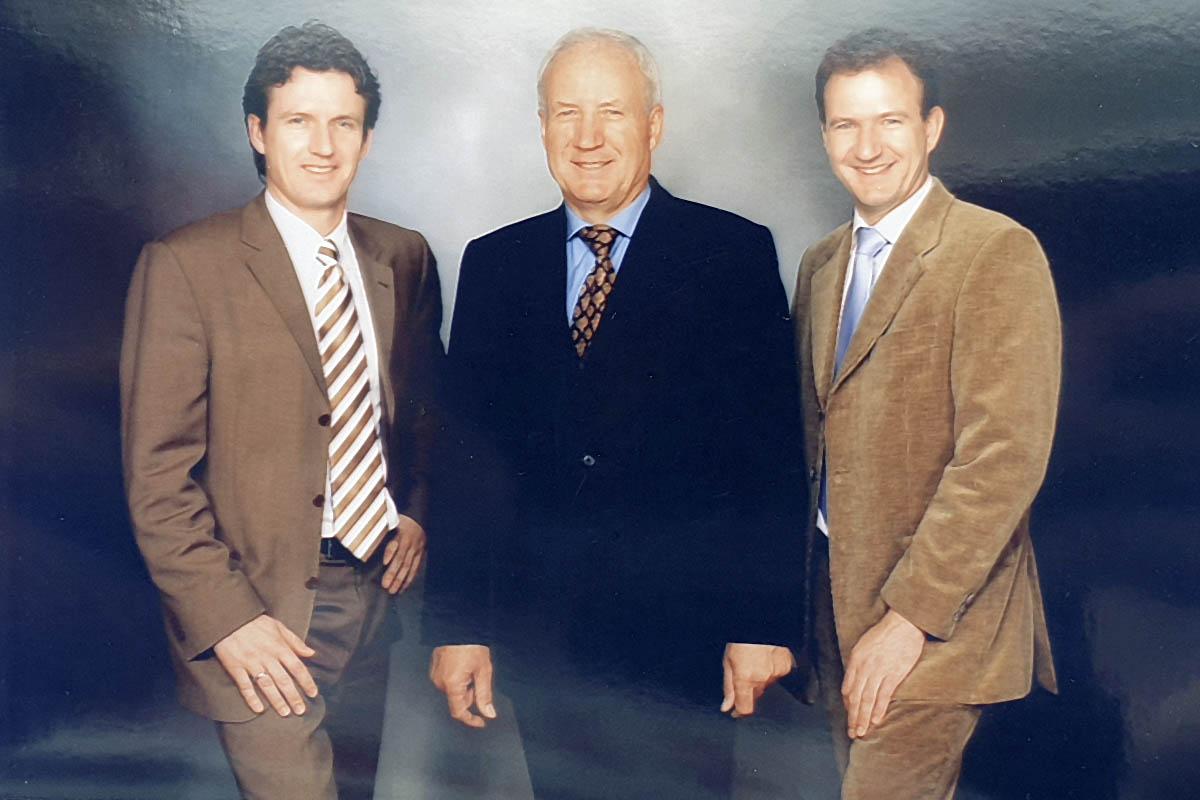 Drei Generationen Geschäftsführung