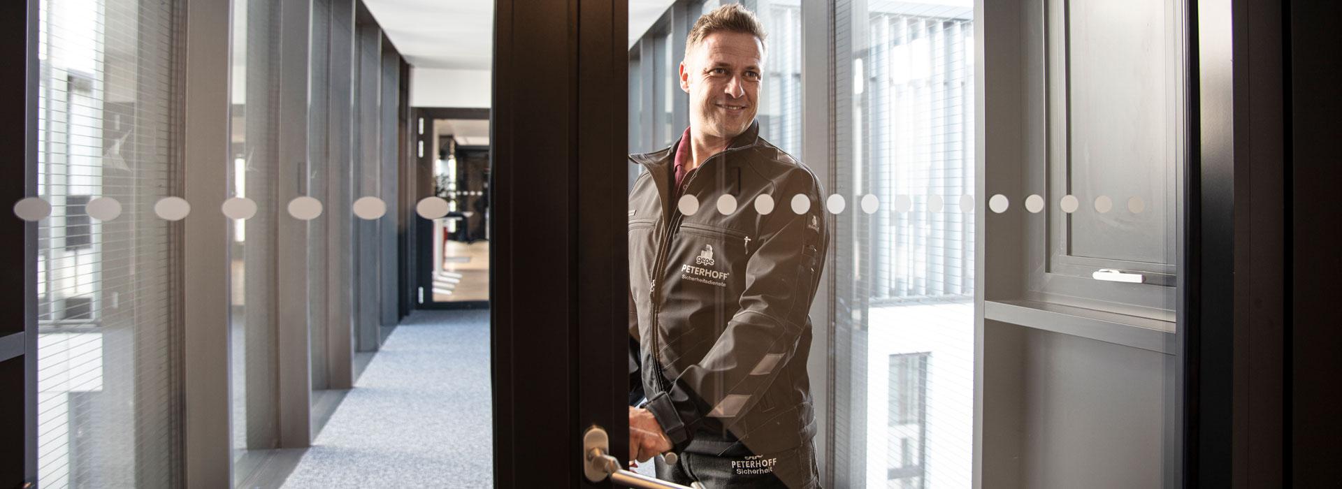 Gebäudesicherheit - gepe Gebäudedienste Peterhoff