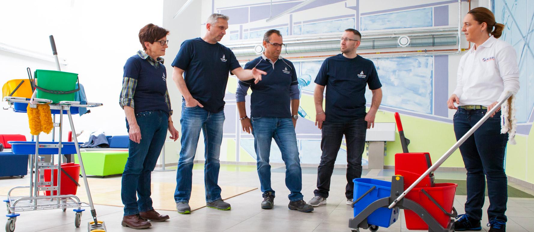 Schulungen und Fortbildungen (Alegria München) - gepe Gebäudedienste Peterhoff GmbH